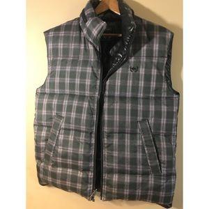 XL Buffalo David Bitton REVERSIBLE Puff Vest